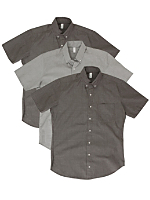 Not-So-Perfect Unisex Short Sleeve Button-Up Grab Bag (3 Pieces)