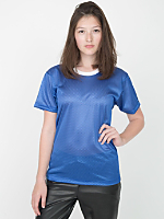 Unisex Poly Mesh Athletic Tee