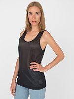 Unisex Poly Mesh Athletic Tank