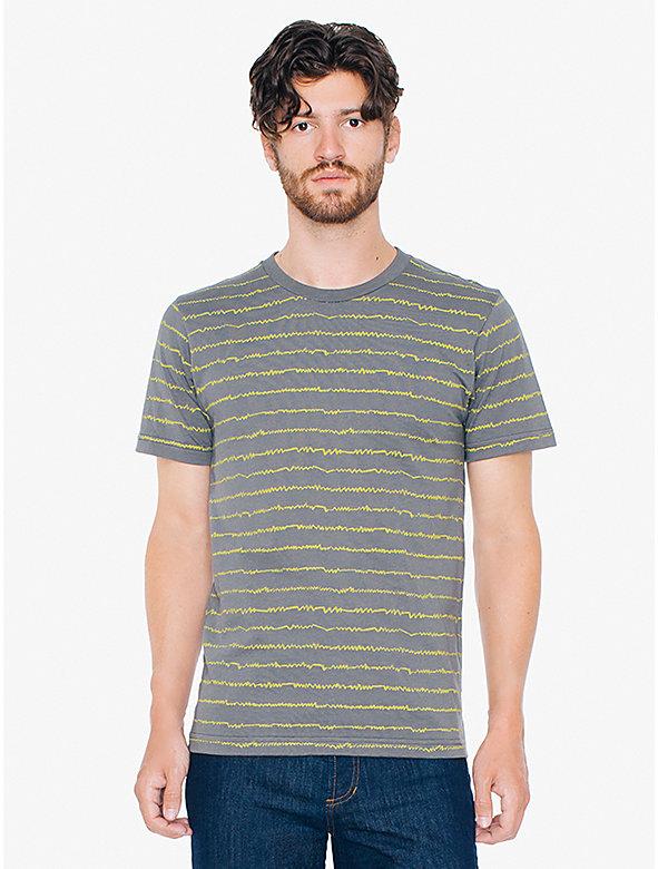 Printed Hammer Crewneck T-Shirt