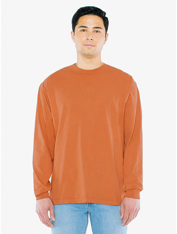 Heavy Jersey Long Sleeve Box T-Shirt