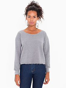 Athletic Crop Sweatshirt