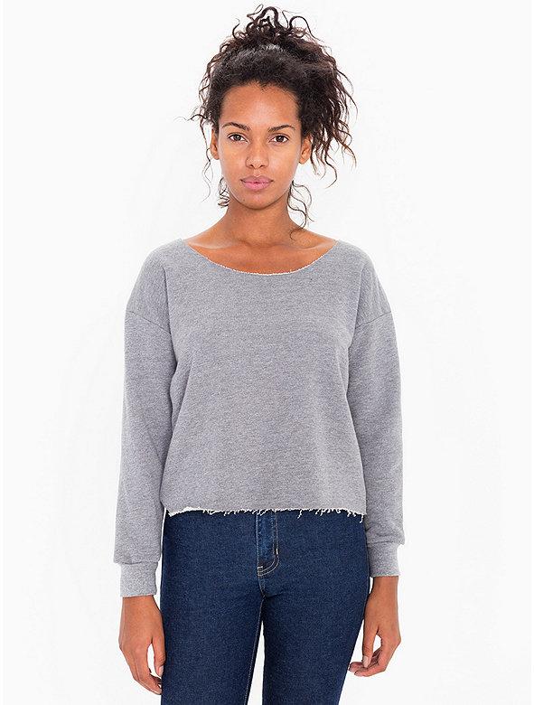 Athletic Crop Sweatshirt