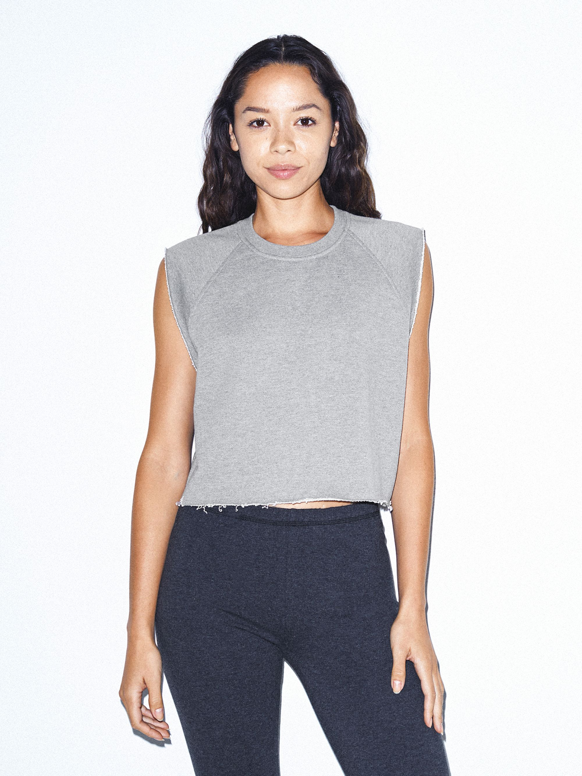 Heavy Terry Dance Top | Tuggl