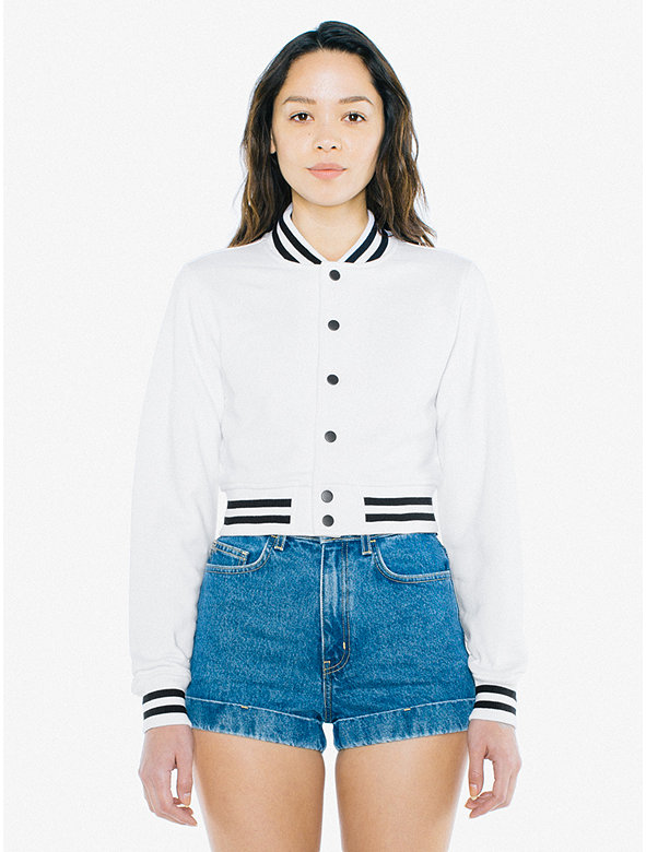 Heavy Terry Cropped Club Jacket