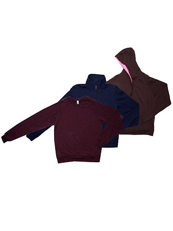 Not-So-Perfect Unisex Cali Fleece Sweatshirt Grab Bag (3 Pieces)