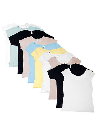 Not-So-Perfect Women's Classic Tee Grab Bag (10 Pieces)