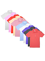 Not-So-Perfect Unisex Short Sleeve Polo Grab Bag (10 Pieces)
