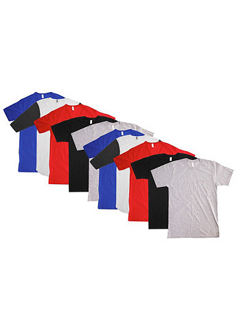 Not-So-Perfect Unisex Short Sleeve Tee Grab Bag (10 Pieces)