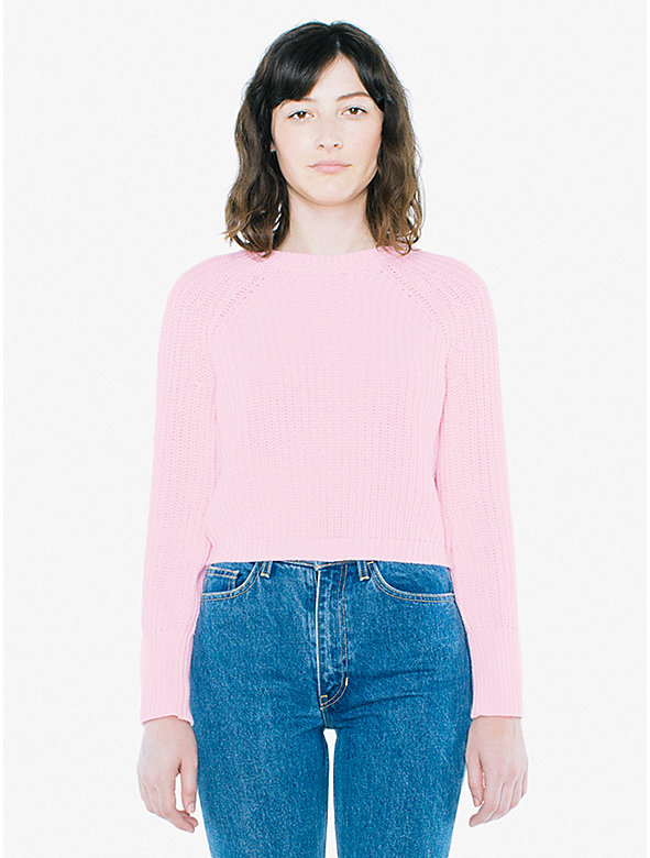 Cropped Fisherman Pullover