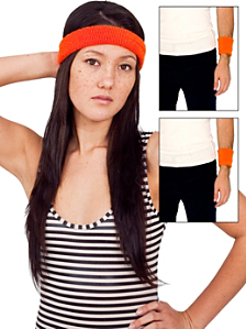 Unisex Flex Terry Headband & Wristband (3-Pack)