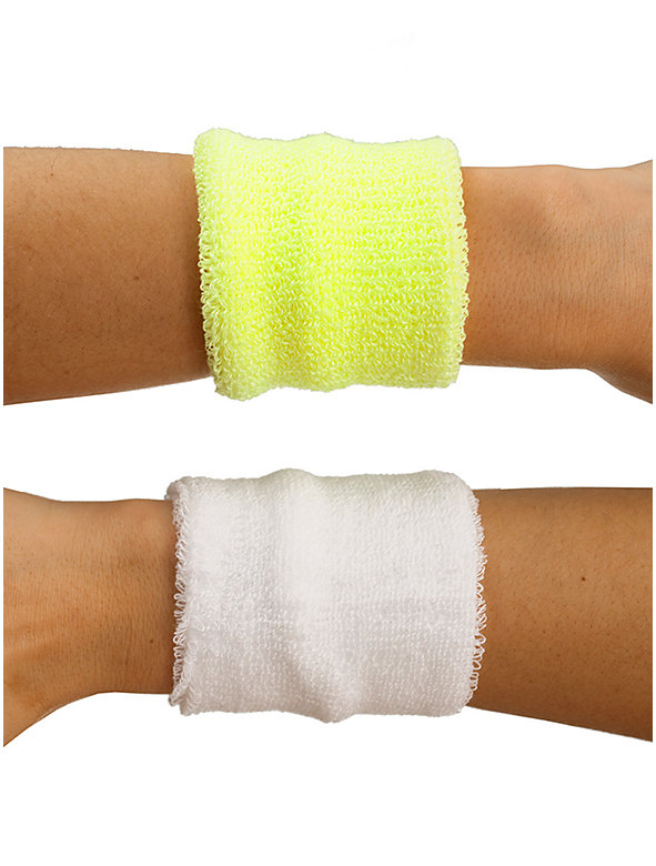 Unisex Flex Terry Wristband(2-Pack)