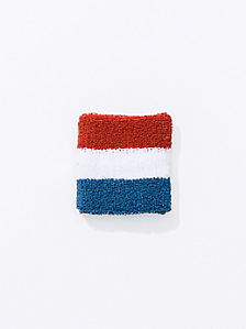 US Stripe Unisex Flex Terry Wristband