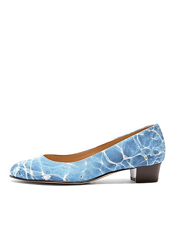 La Piscine Leslie Pump Canvas Shoe
