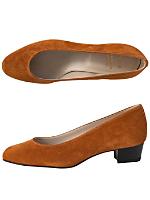Leslie Pump Suede Shoe