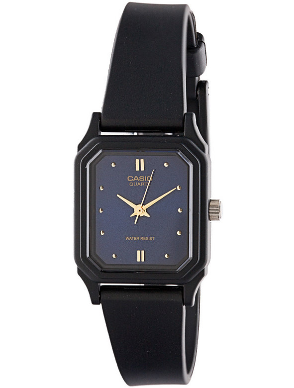 LQ-142E-2A Casio Resin & Navy Ladies Analog Watch