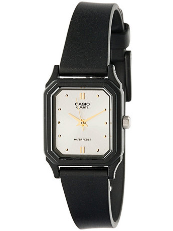 LQ142E-7A Casio Resin & White Ladies Analog Watch