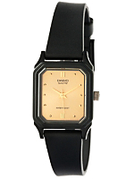 LQ142E-9A Casio Resin & Gold Ladies Analog Watch
