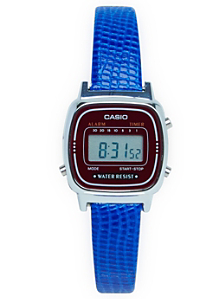 Lizard Blue Leather Limited Edition Wristwatch