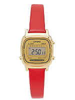 Solid Red Leather Limited Edition Wristwatch