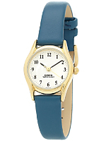 Solid Blue Leather Limited Edition Wristwatch