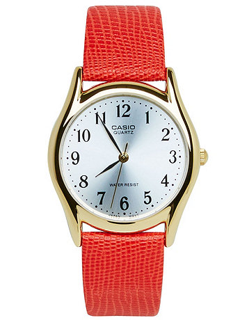 Lizard Red Leather Limited Edition Wristwatch