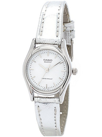 LTP1094E7A - Casio Ladies Silver Wristwatch