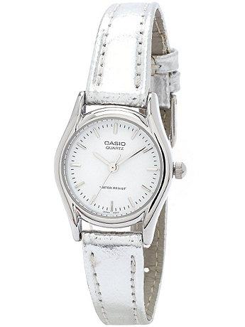 LTP1094E7A - Casio Ladies Silver Wristwatch