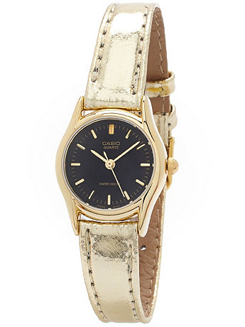 LTP1094Q-1ARDF Casio Gold Ladies Wristwatch