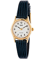 LTP-1094Q-7B1LE Casio Navy Leather Ladies Analog Watch