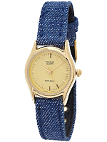 LTP1094Q-9AD Casio Dark Denim Ladies Analog Watch