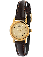 LTP1095Q-9A Casio Brown Leather Ladies Analog Watch