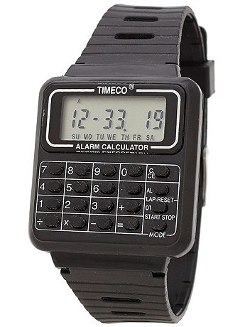 Luxury Calculator Watch