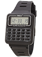 Luxury Calculator Watch - Black