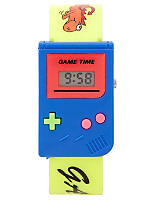 Blue and Yellow Luxury Game Wristwatch
