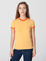 Mélange Jersey Short Sleeve Gym T