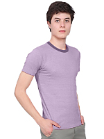 Mélange Jersey Short Sleeve Gym T-Shirt