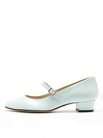 Mary Jane Pump Canvas Shoe