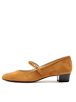 Mary Jane Pump Suede Shoe