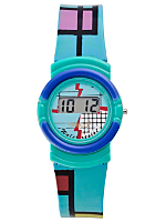 Timeco Aqua Mondrian Digital Watch
