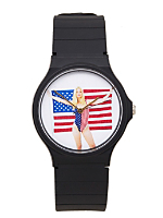 Lady Liberty Casio Men's Wristwatch