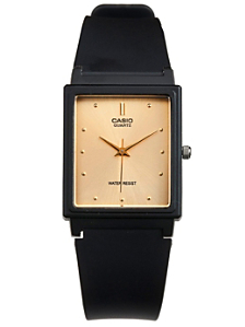 MQ-38 Casio Resin & Gold Analog Watch