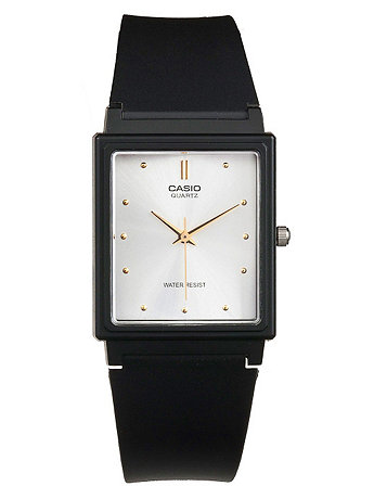 MQ-38 Casio Resin & Silver Analog Watch
