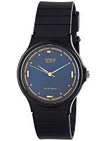 MQ-76-2A Casio Resin & Navy Analog Watch