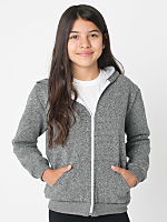 Youth Salt & Pepper Zip Hoodie