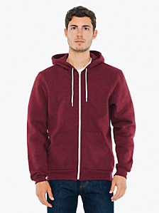 Salt and Pepper Zip Hoodie