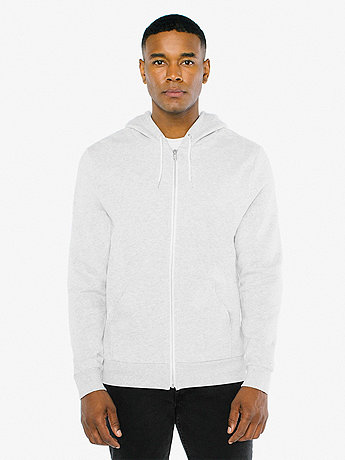 Unisex Salt and Pepper Zip Hoodie
