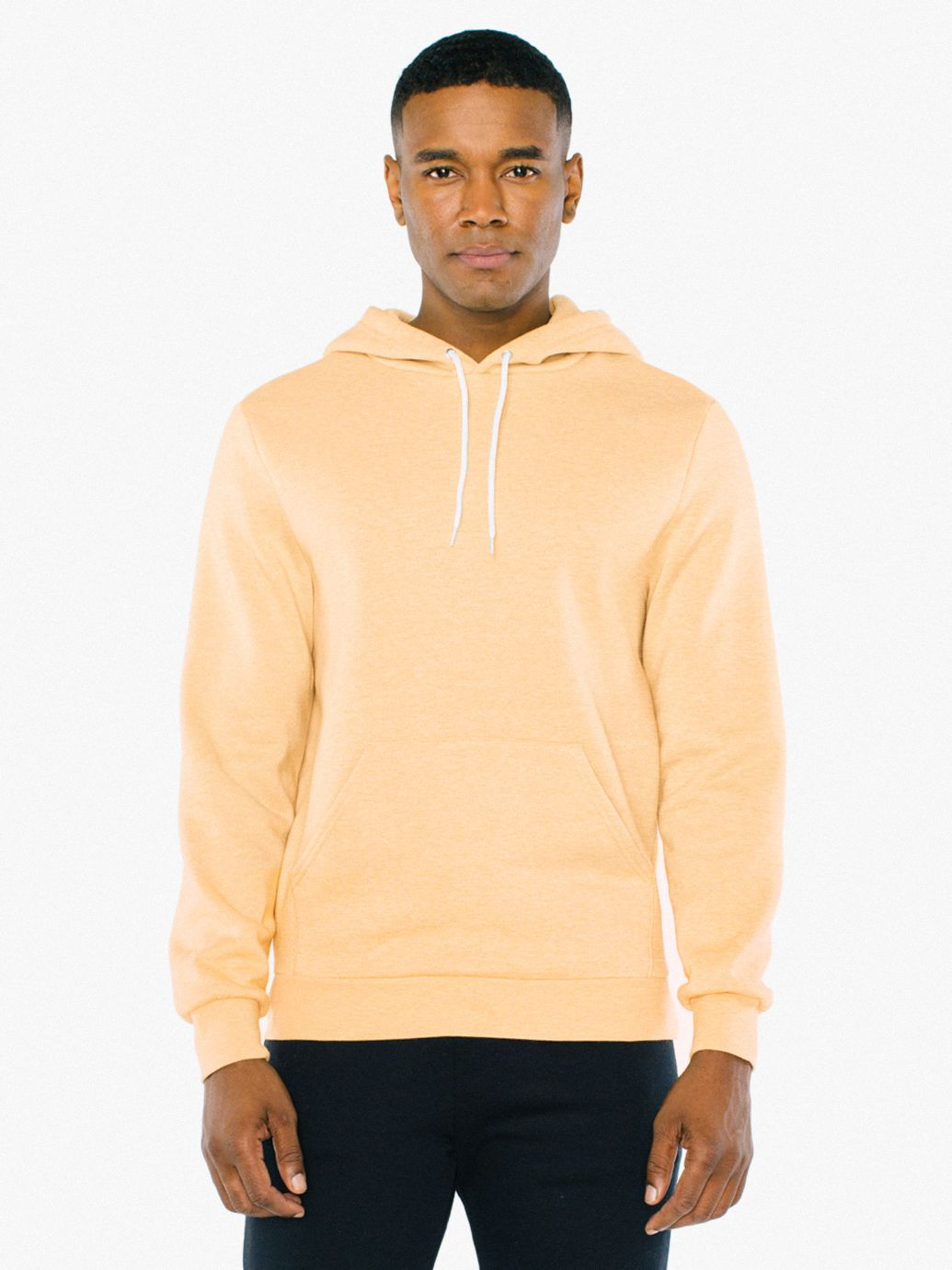 Peppered Fleece Pullover Hoodie | Tuggl