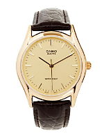 MTP-1095Q-9A Casio Analog Leather Strap Watch