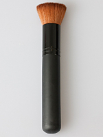 Make-Up Brush BroBrown Faux-Jumbo Flat Top